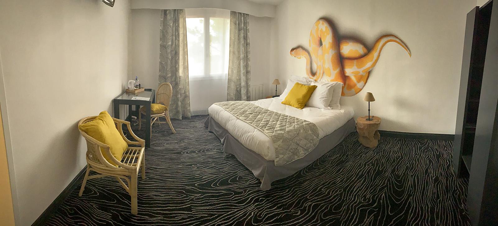Au Palmyre Hotel - Chambre accessible PMR