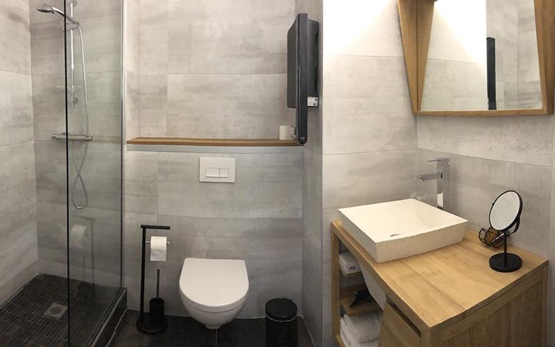 Au Palmyre Hotel - Salle de bain