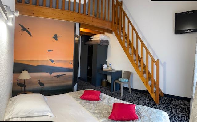 Hotel La Palmyre - Chambre familiale